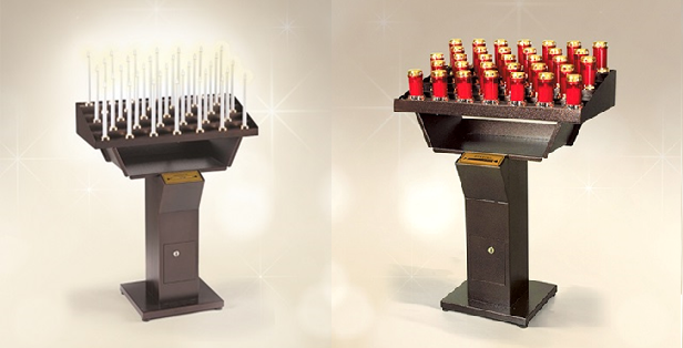 ELECTRIC CANDLE HOLDERS