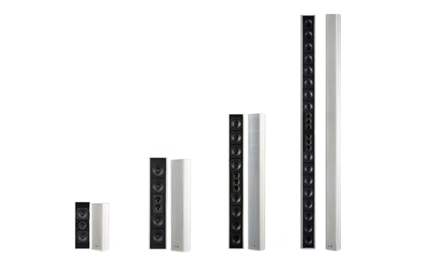 The series GL consists of speakers for the church