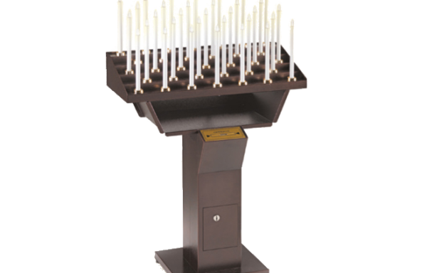 Automatic electric candles-holder